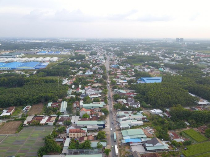 đất nền xã Phú Chánh A