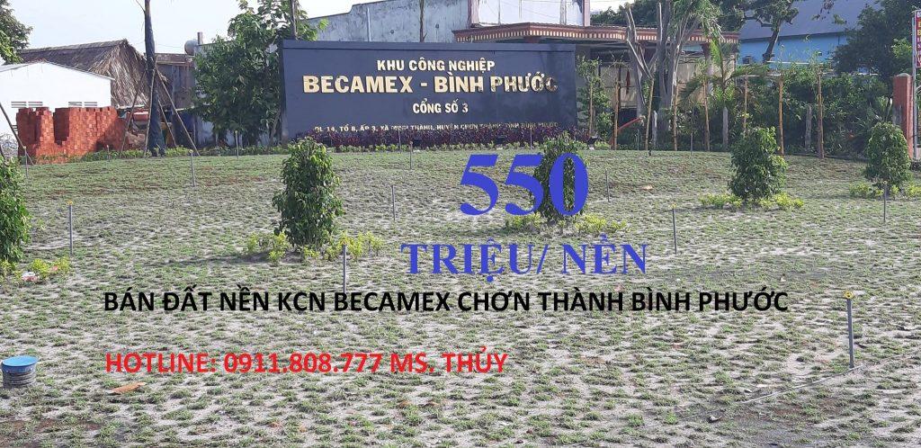KCN BECAMEX CHƠN THÀNH