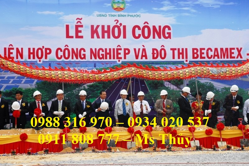 Khu liên hợp công nghiệp và đô thị Becamex Bình Phước