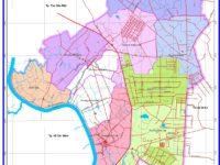 Bản đồ Hành chính Thị Xã Thuận An, Bình Dương