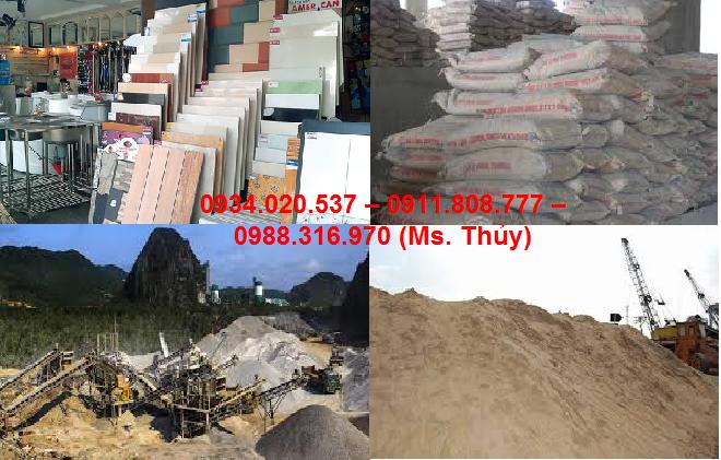 vật liệu xây dựng cho Quận Gò Vấp