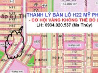 bán lô H22 Mỹ Phước 3