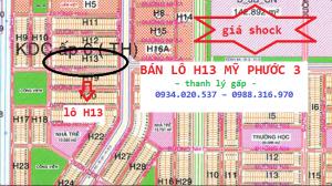 bán lô H13 Mỹ Phước 3