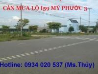 Cần mua giá cao lô I59 Mỹ Phước 3 gần hồ hoàng gia