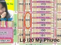 Nhượng bán nhanh Lô I20 Mỹ Phước 3 giá rẻ
